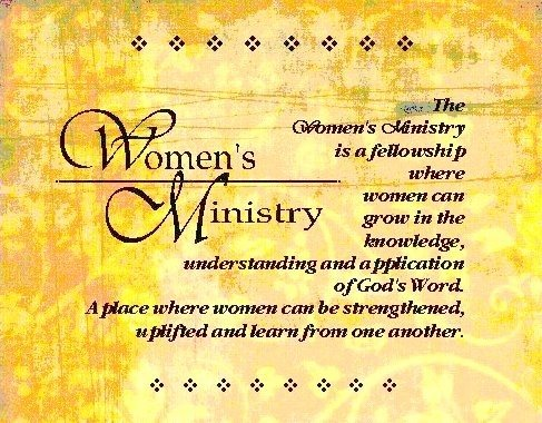 Women's Ministry Main Picture